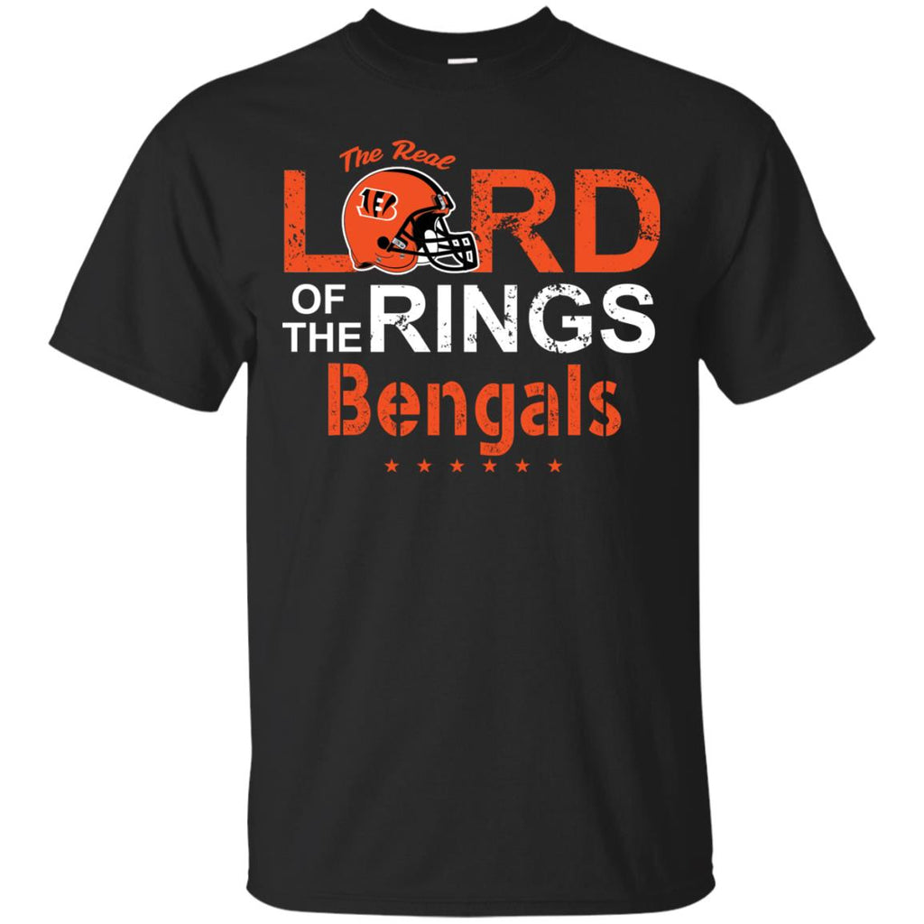 The Real Lord Of The Rings Cincinnati Bengals T Shirts