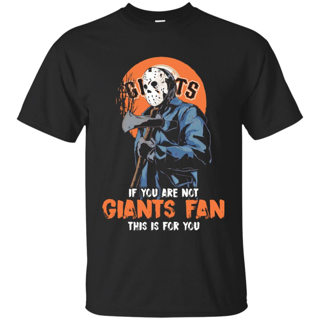 Jason With His Axe San Francisco Giants T Shirts