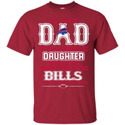 Proud Of Dad Of An Awesome Daughter Buffalo Bills T Shirts