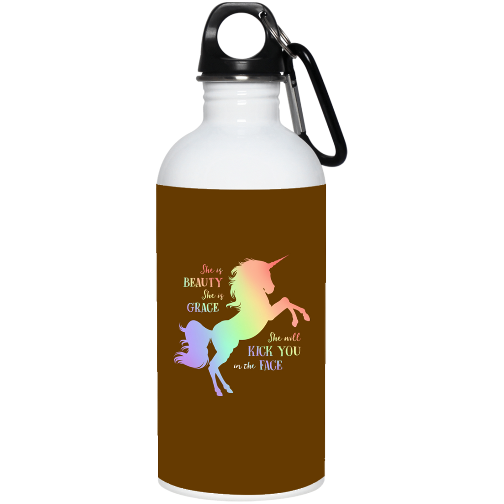 She Is Beauty Unicorn Water Bottles