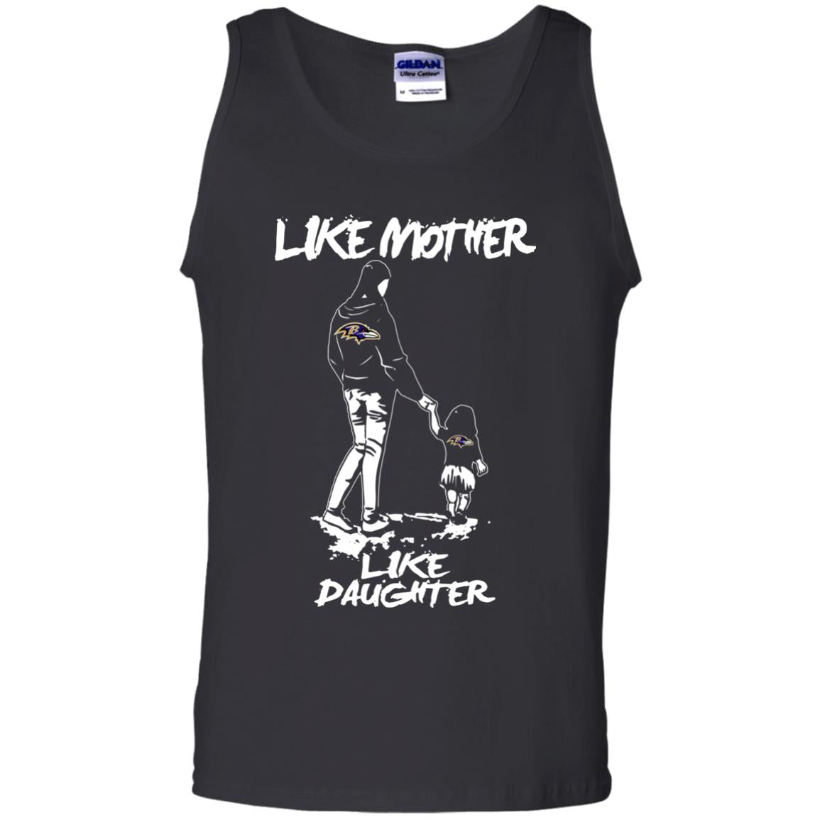 Like Mother Like Daughter Baltimore Ravens T Shirts