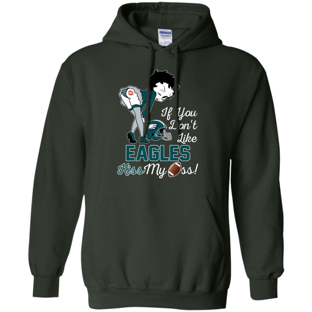 If You Don't Like Philadelphia Eagles Kiss My Ass BB T Shirts
