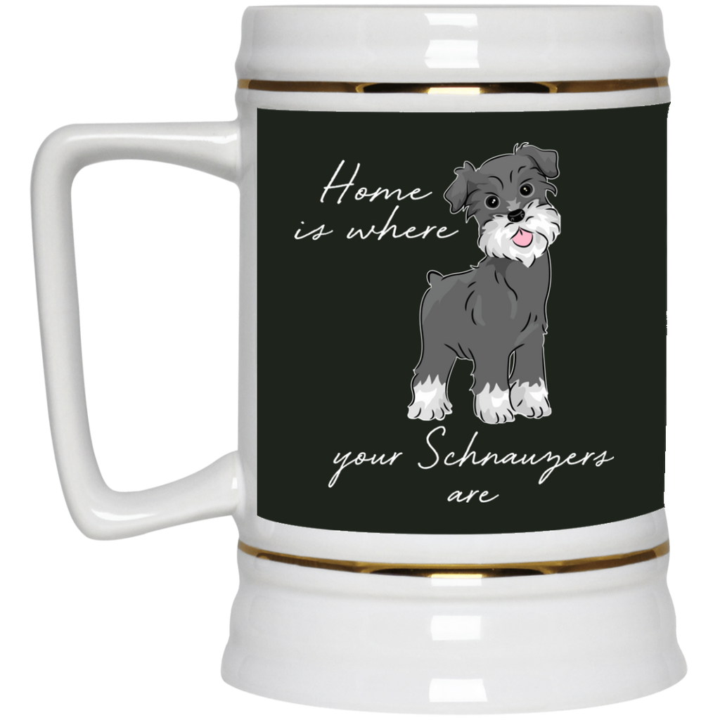 Home Is Where My Schnauzers Are Mugs
