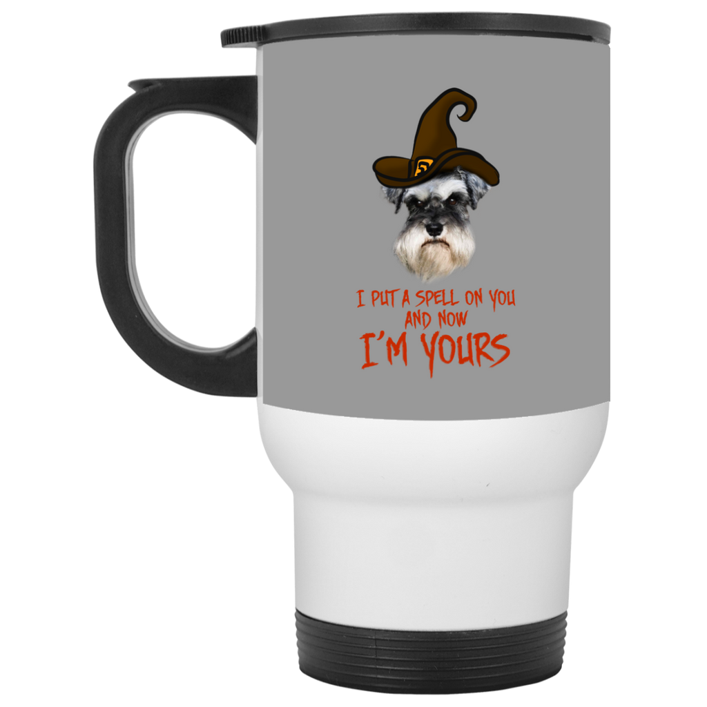 I Put A Spell On You Schnauzer Travel Mugs