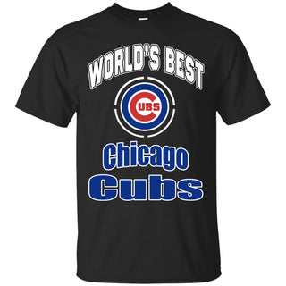 Amazing World's Best Dad Chicago Cubs T Shirts