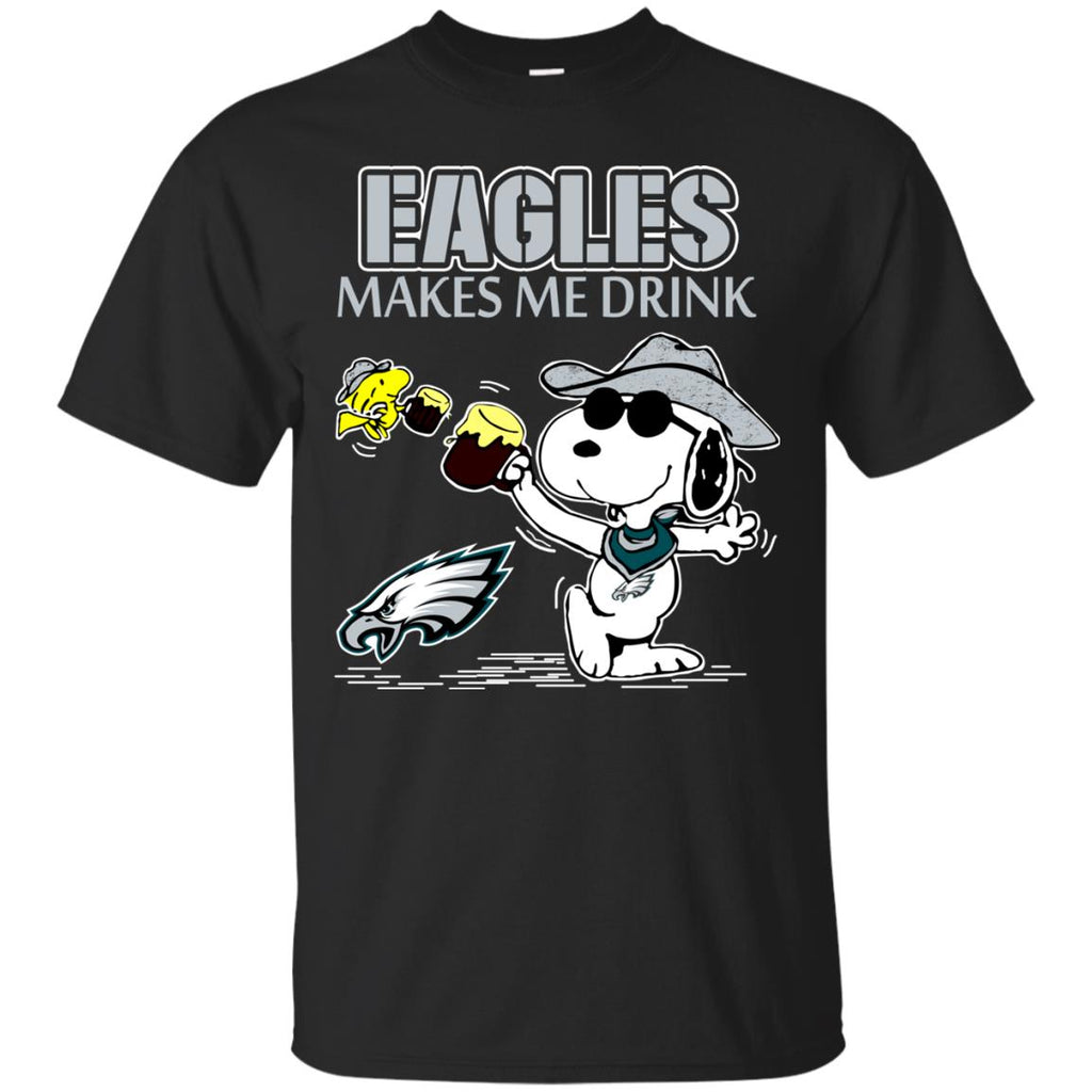 Philadelphia Eagles Make Me Drinks T Shirts