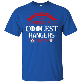 Officially The World's Coolest Texas Rangers Fan T Shirts