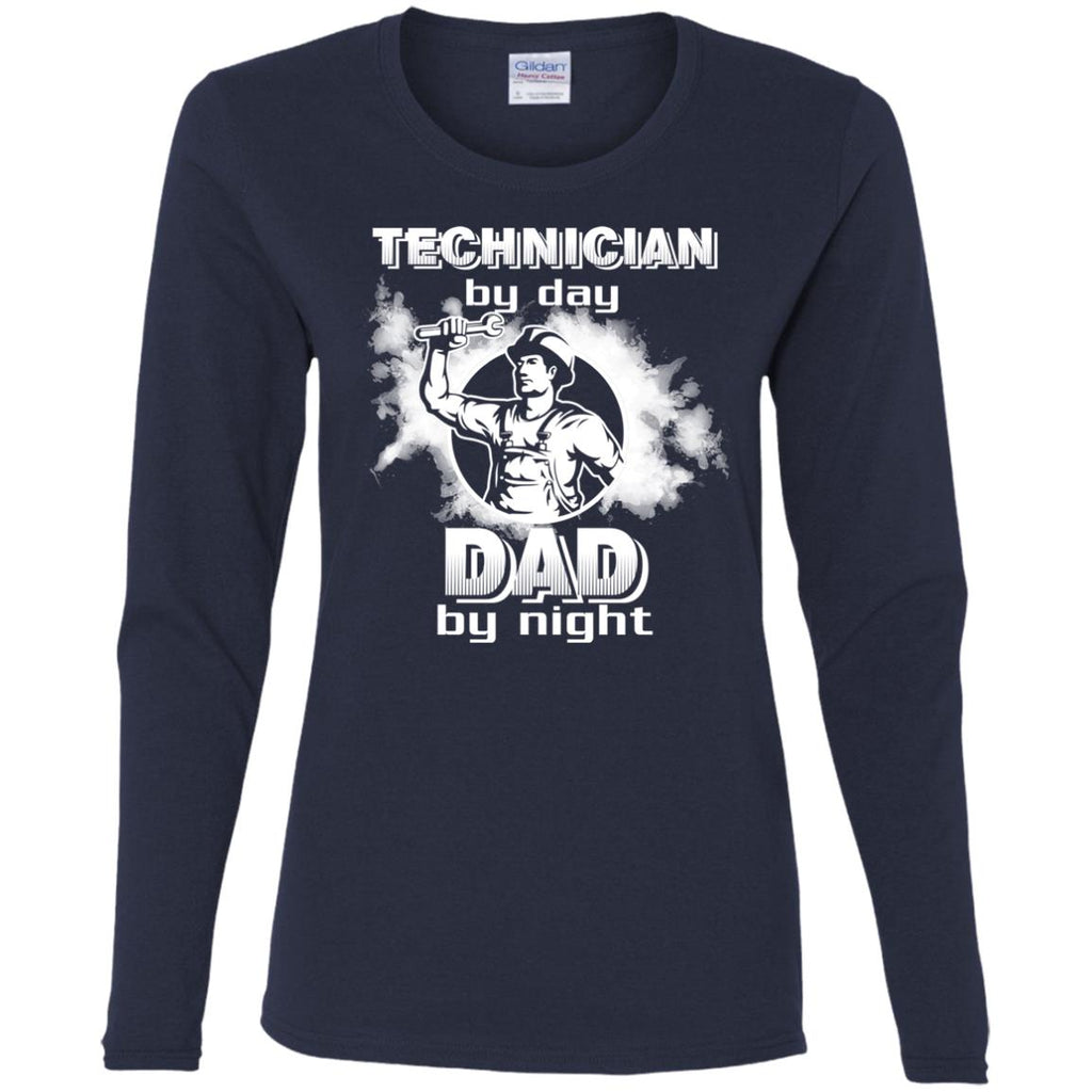 Technician By Day Dad By Night T Shirts