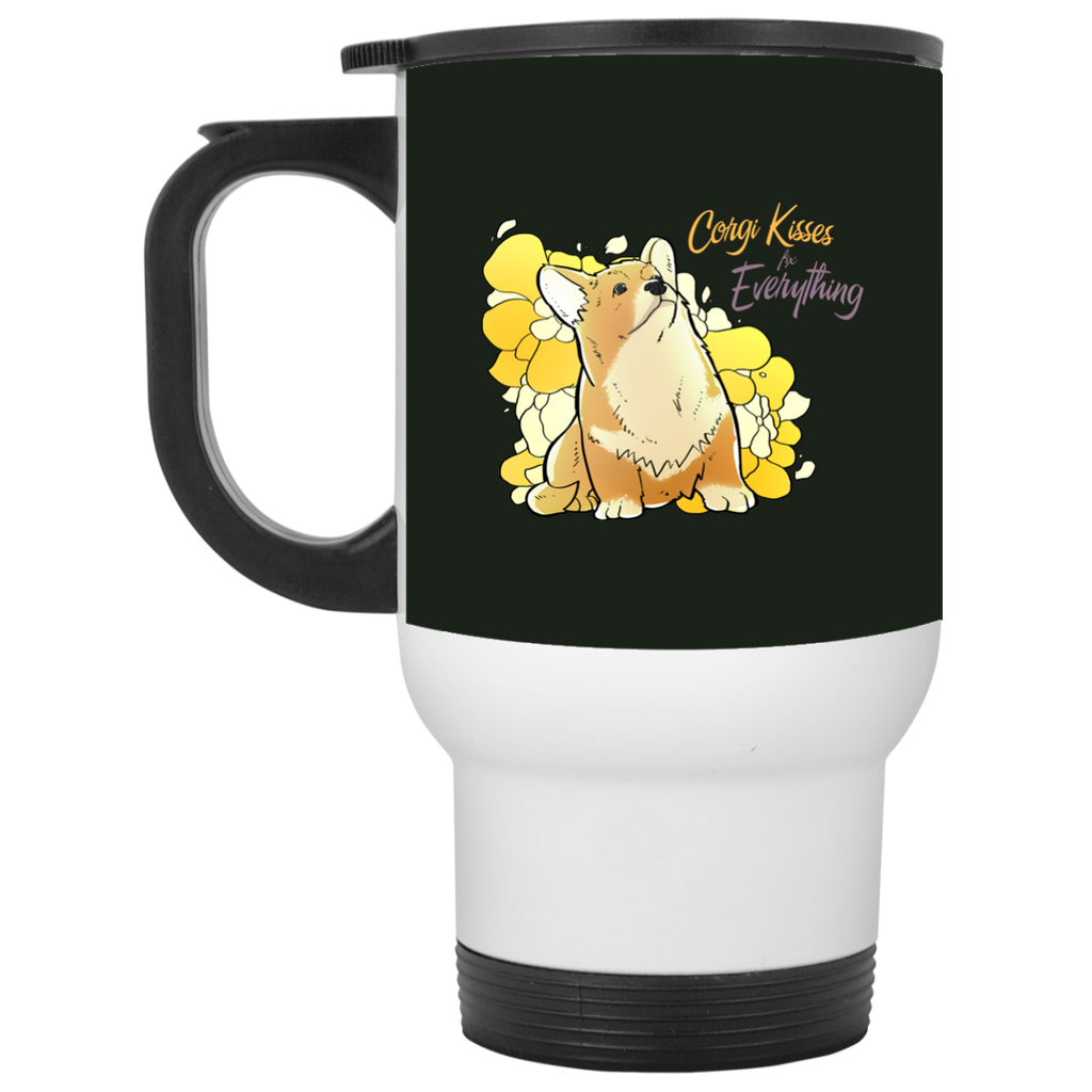 Corgi Kisses Fix Everything Mugs
