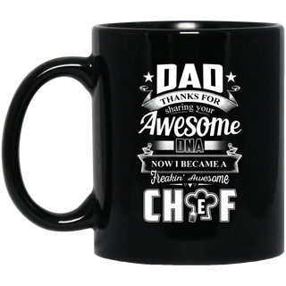 Dad Thanks For Sharing Your DNA Chef Mugs