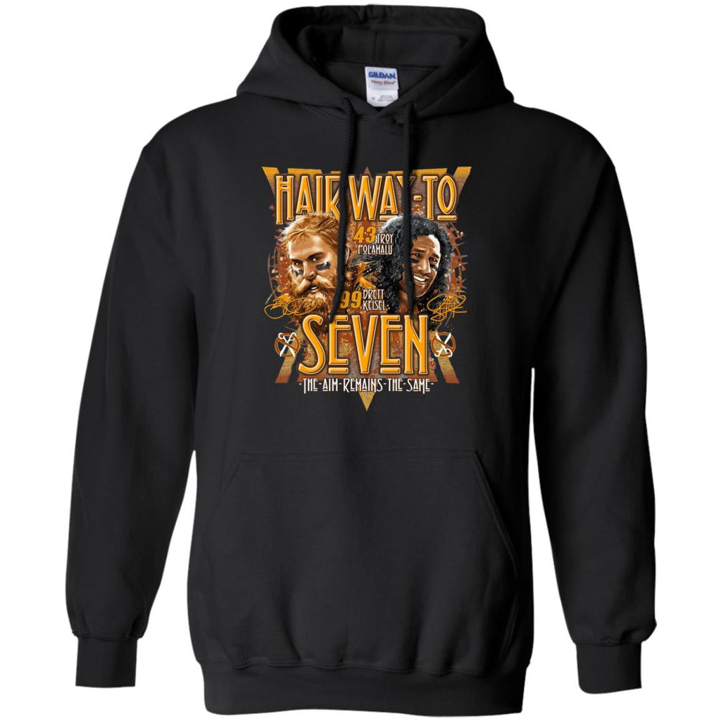 Hair Way To Seven Pittsburgh Steelers T Shirts - Best Funny Store