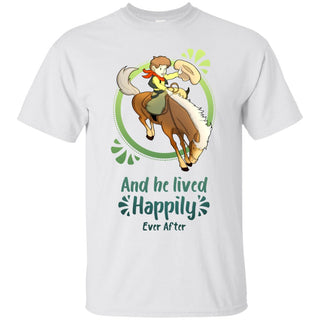 Cowboy Children - Horse And He Lived Happily Ever After T Shirts