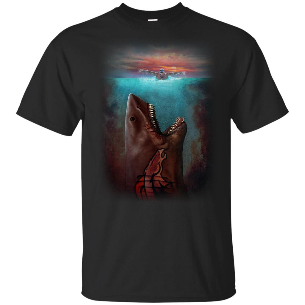 Jaws Denver Broncos T Shirt - Best Funny Store