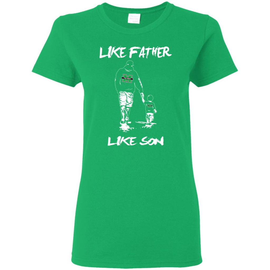 Like Father Like Son Marshall Thundering Herd T Shirt