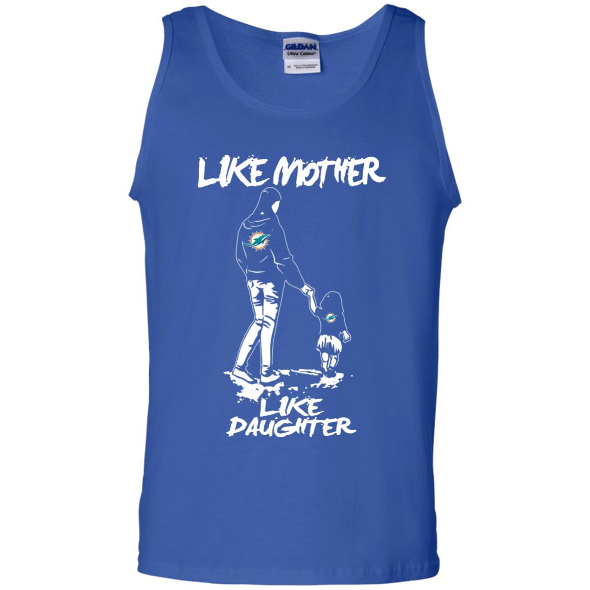 Like Mother Like Daughter Miami Dolphins T Shirts