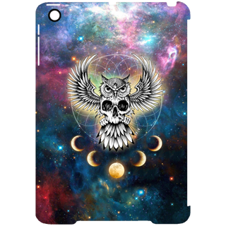 Skull Space Pattern Owl Tablet Covers