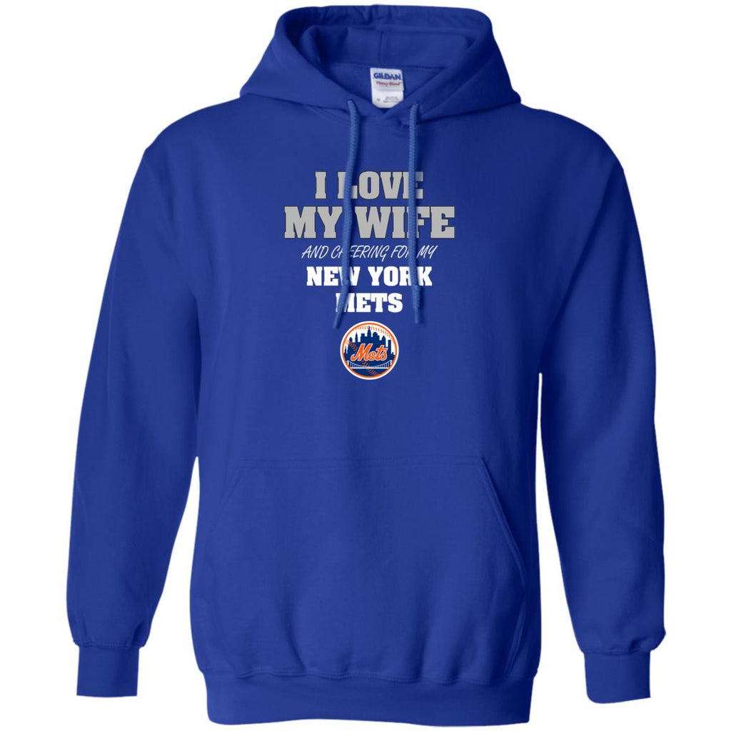 I Love My Wife And Cheering For My New York Mets T Shirts