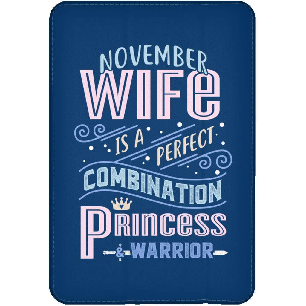 November Wife Combination Princess And Warrior Tablet Covers