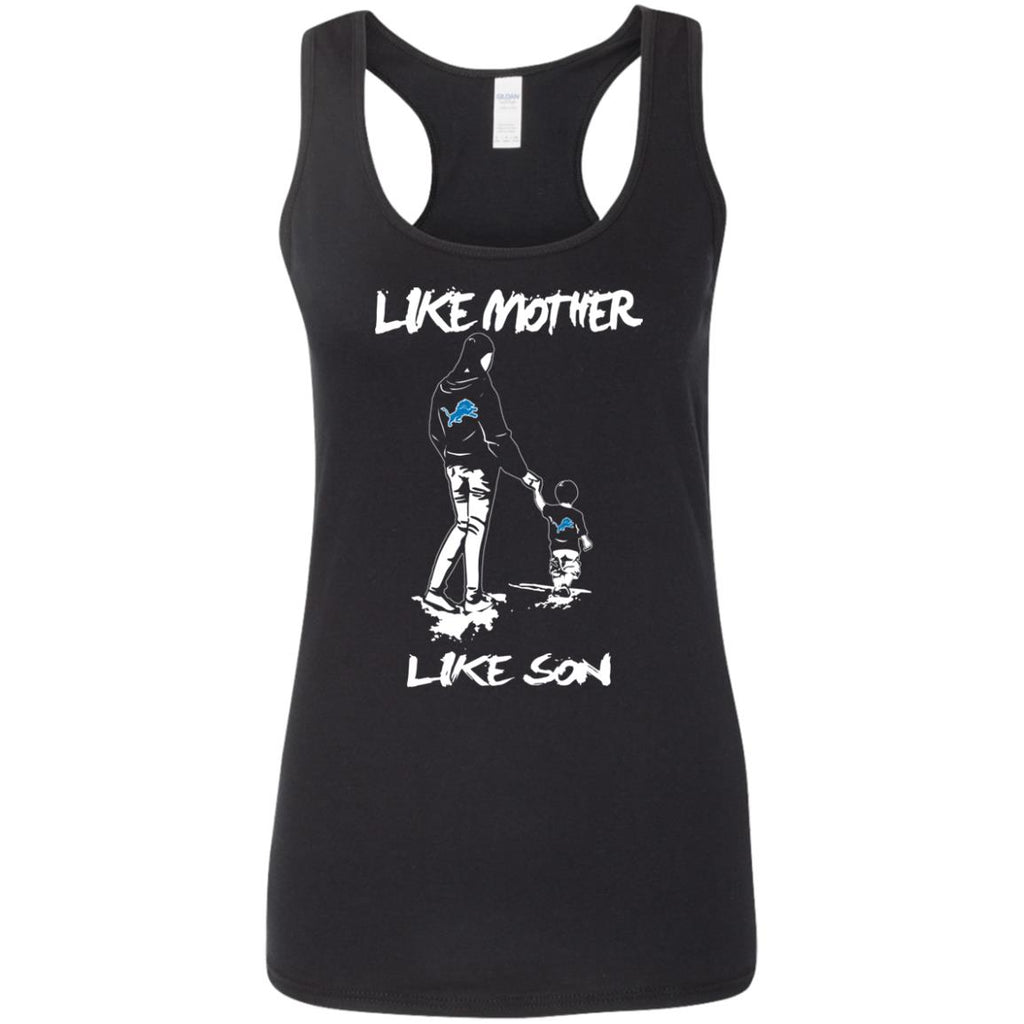 Like Mother Like Son Detroit Lions T Shirt