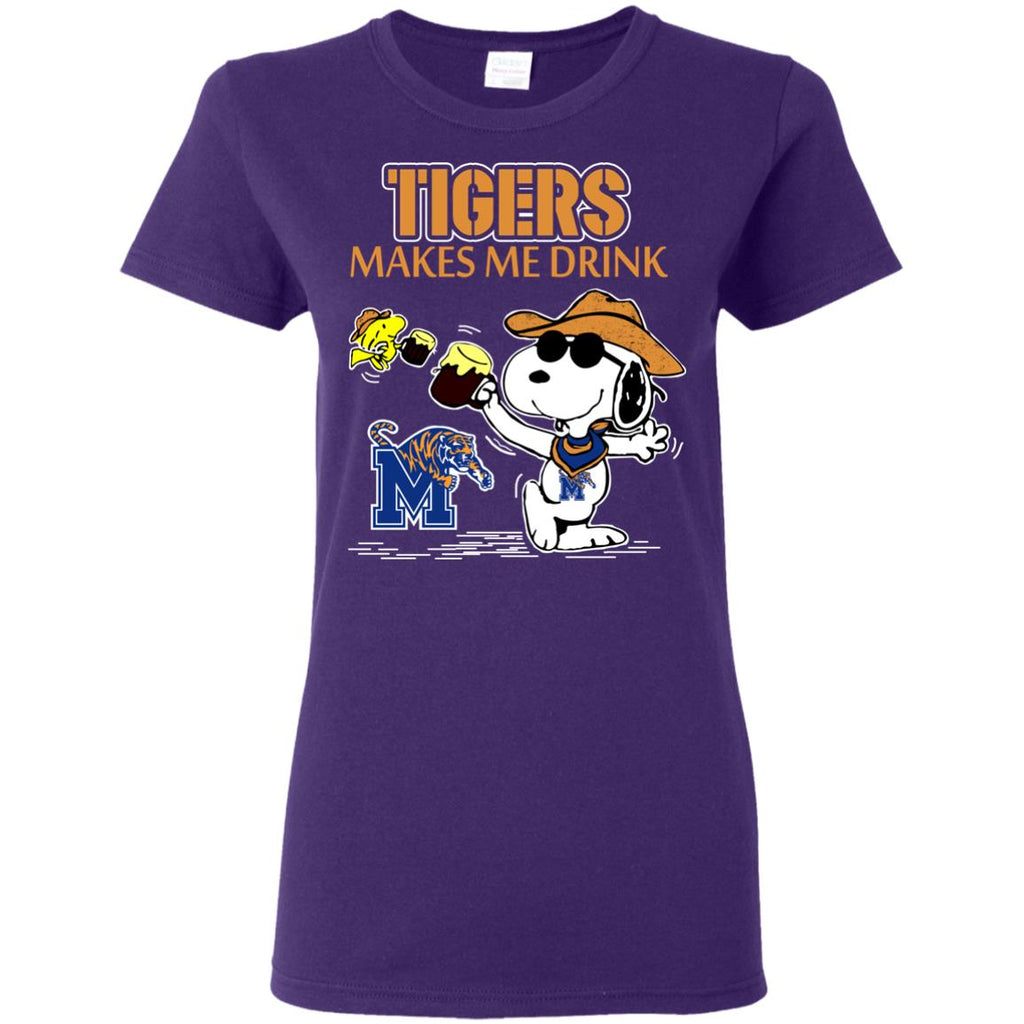 Memphis Tigers Make Me Drinks T Shirts