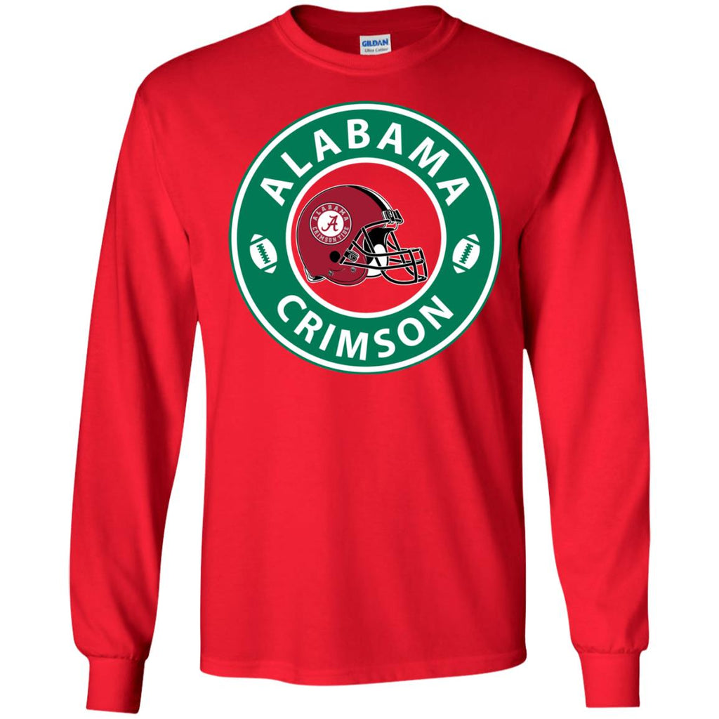Starbucks Coffee Alabama Crimson Tide T Shirts