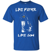 Like Father Like Son Los Angeles Rams T Shirt
