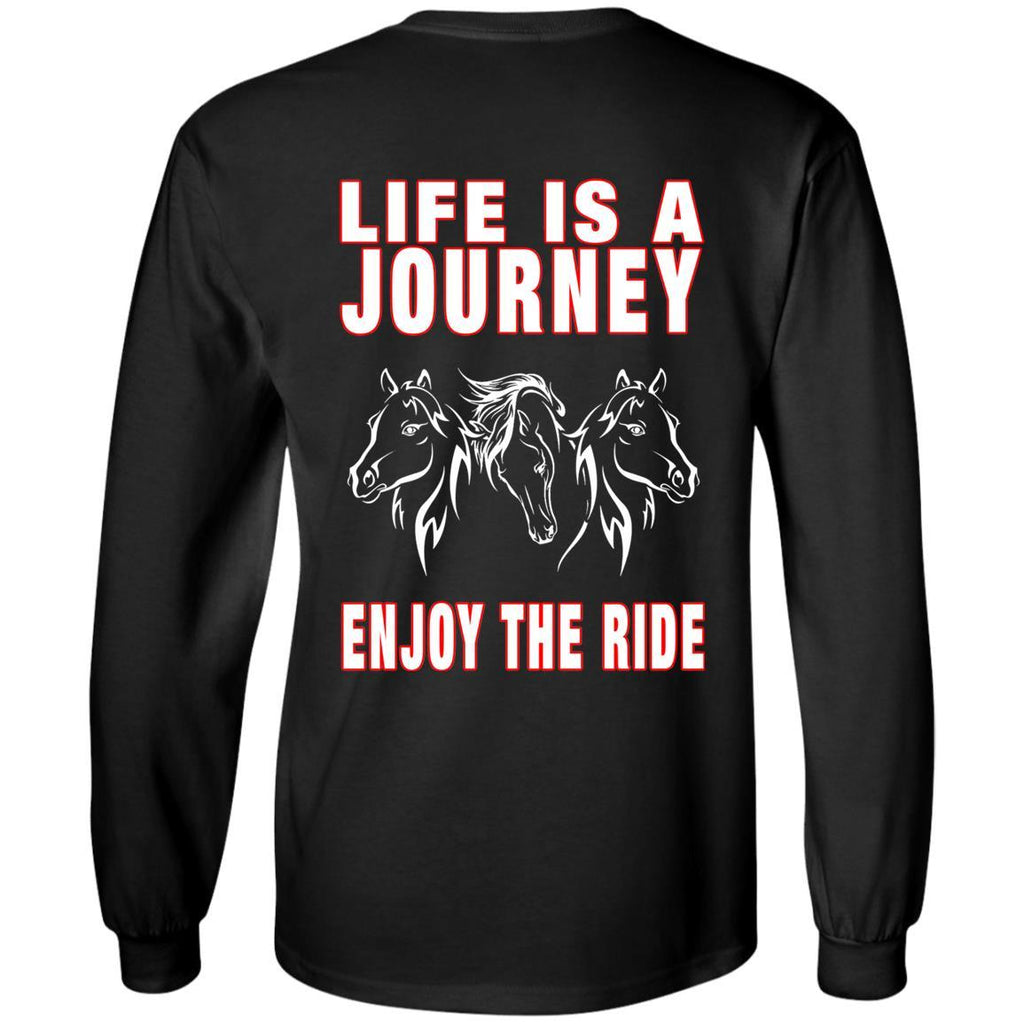 Life Is A Journey Horse T Shirts