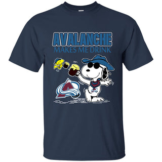 Colorado Avalanche Make Me Drinks T Shirts