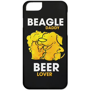 Beagle Daddy Beer Lover Phone Cases