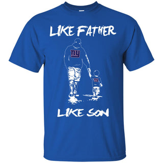 Like Father Like Son New York Giants T Shirt