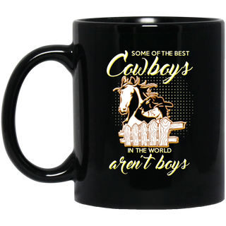 Some Of The Best Cowboys Aren't Boys Horse Mugs