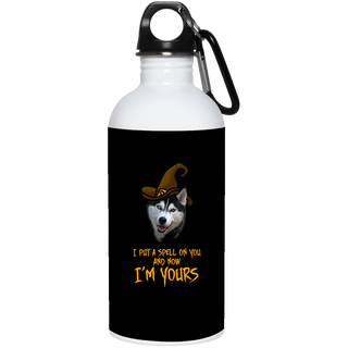I Put A Spell On You Husky Water Bottles
