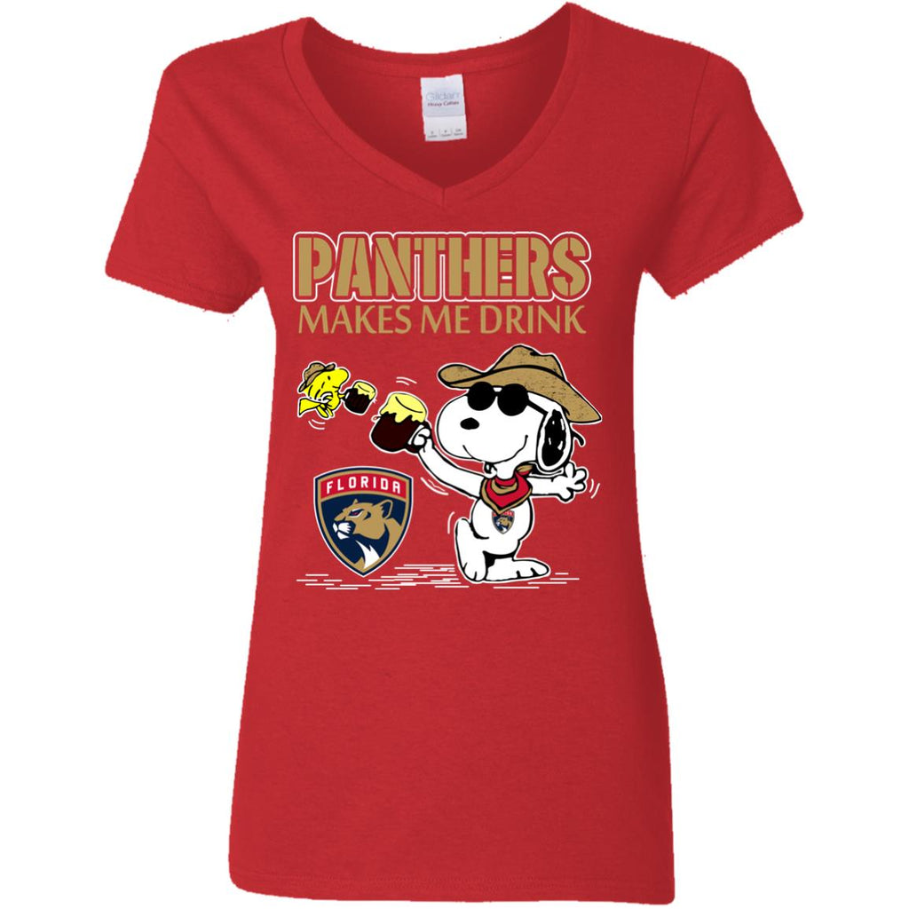 Florida Panthers Make Me Drinks T Shirts