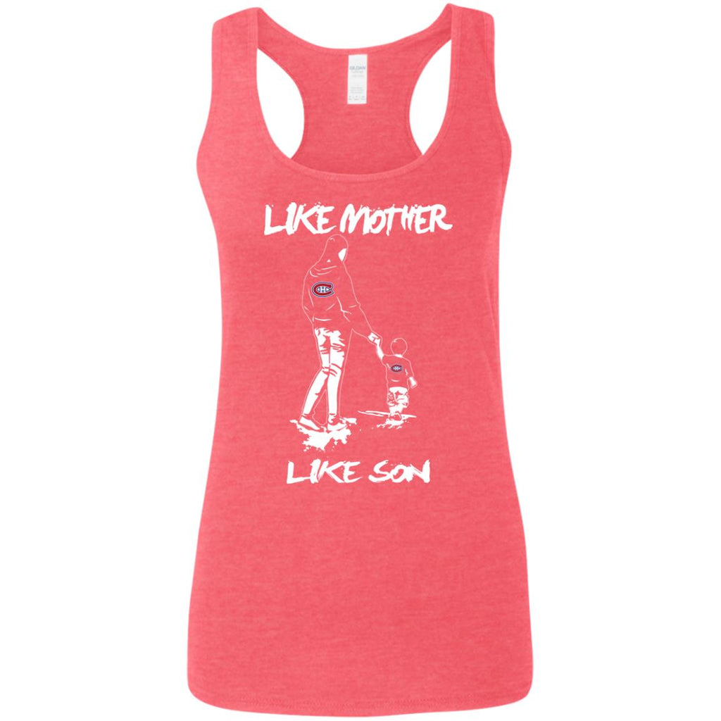 Like Mother Like Son Montreal Canadiens T Shirt