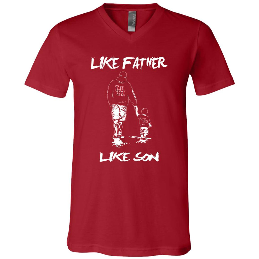 Like Father Like Son Houston Cougars T Shirt