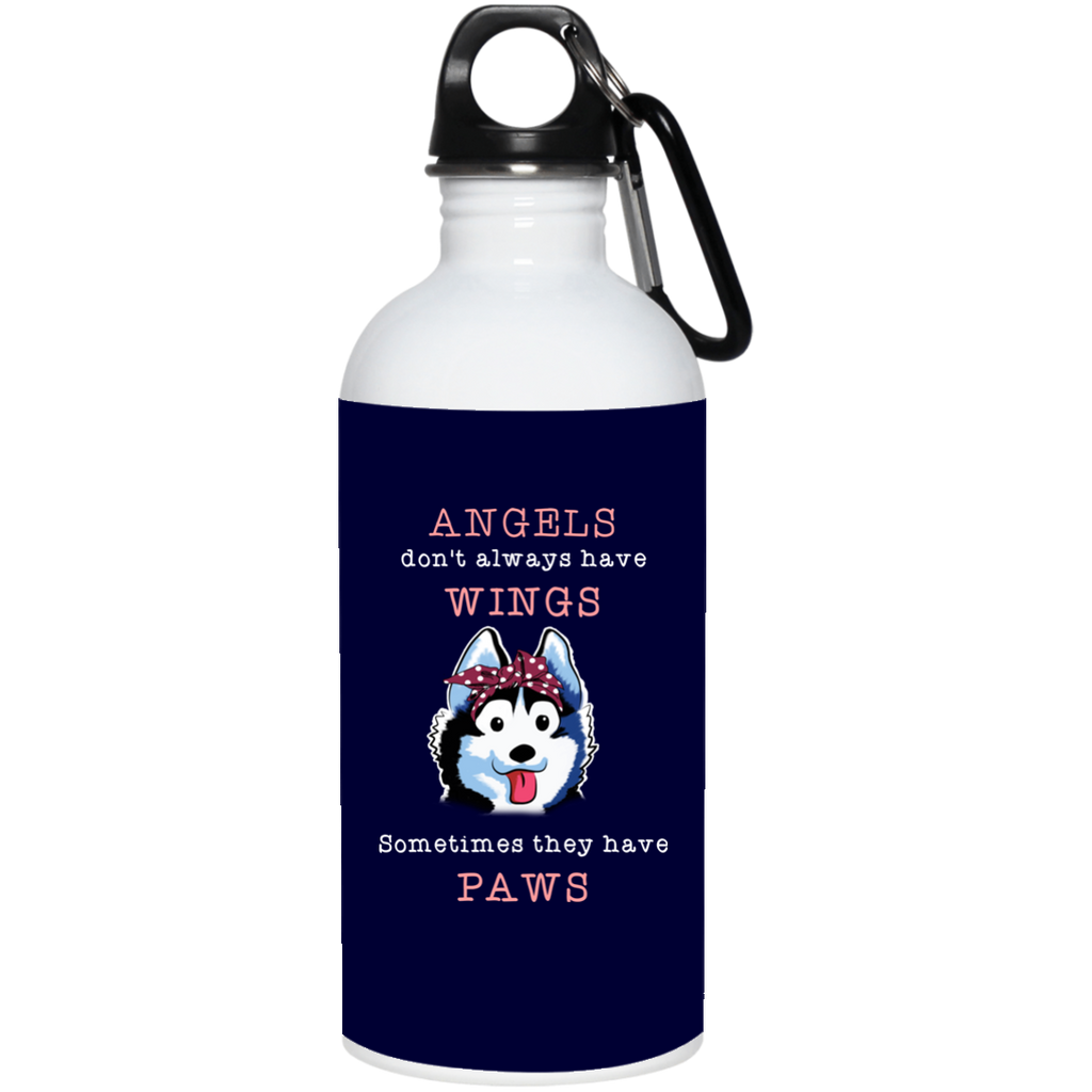 Angels Don't Always Have Wings Husky Mugs