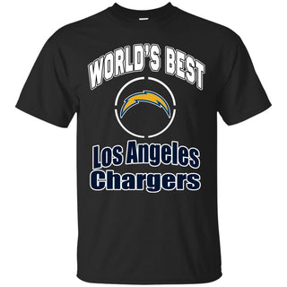 Amazing World's Best Dad Los Angeles Chargers T Shirts