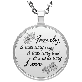 A Little Bit Of Crazy Family Necklaces