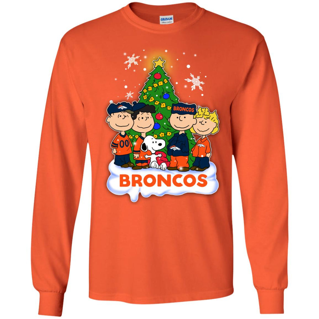 Snoopy The Peanuts Denver Broncos Christmas Sweaters