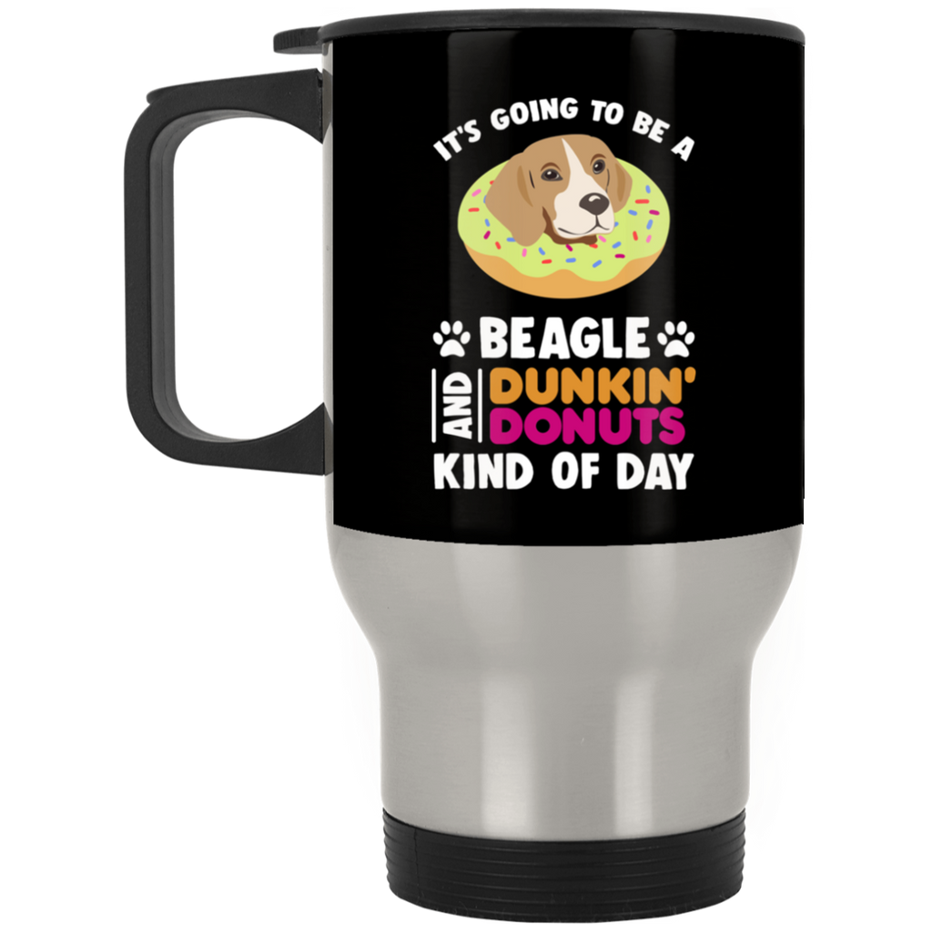 A Beagle And Donut Mug