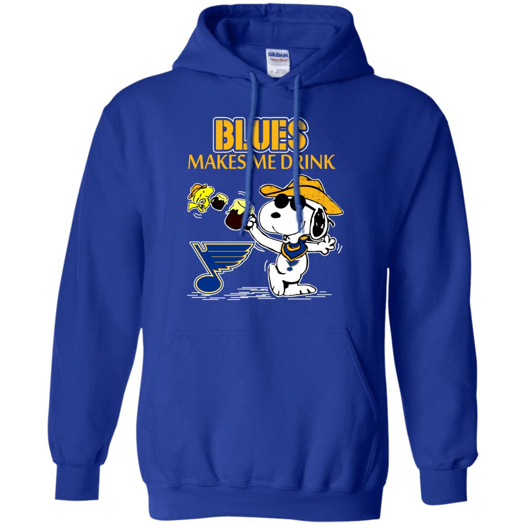 St. Louis Blues Make Me Drinks T Shirts