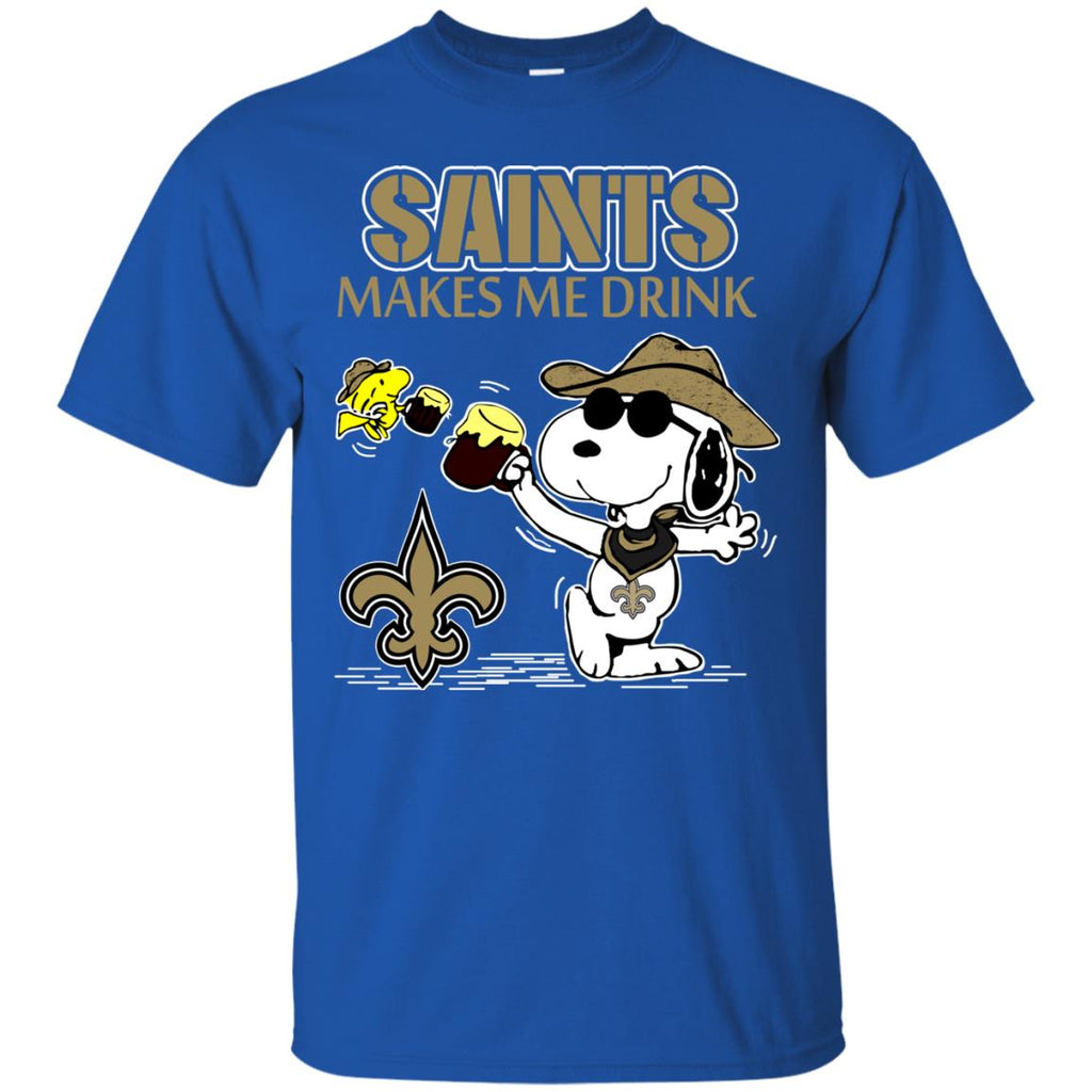 New Orleans Saints Make Me Drinks T Shirts
