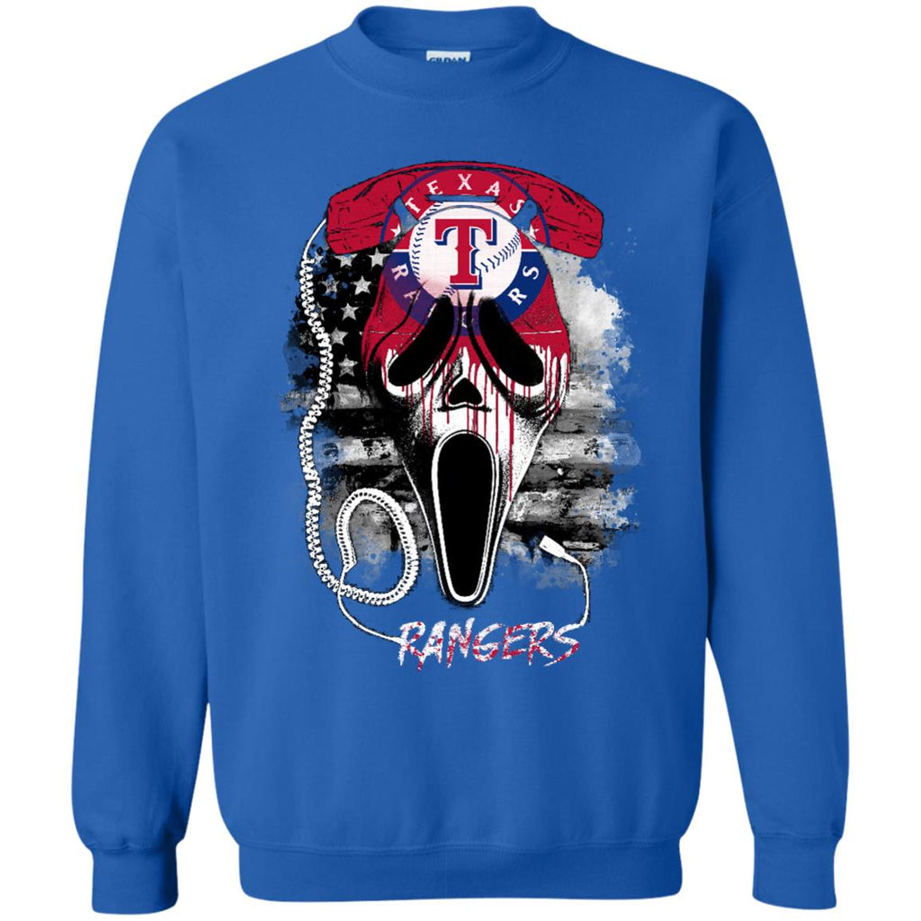 Scream Texas Rangers T Shirts
