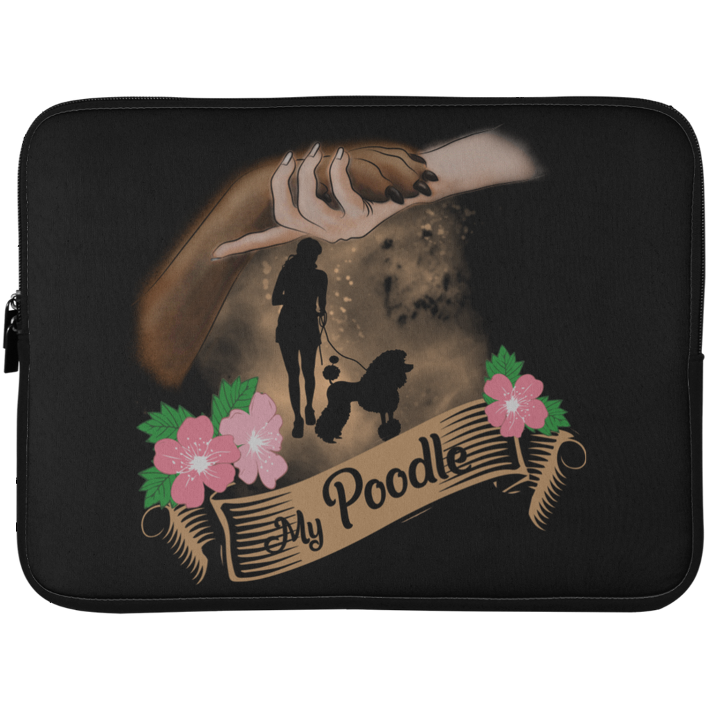 My Poodle Still Loves Me Laptop Sleeves