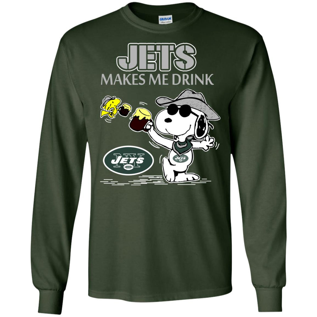 New York Jets Make Me Drinks T Shirts