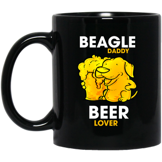 Beagle Daddy Beer Lover Mugs