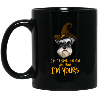 I Put A Spell On You Schnauzer Mugs