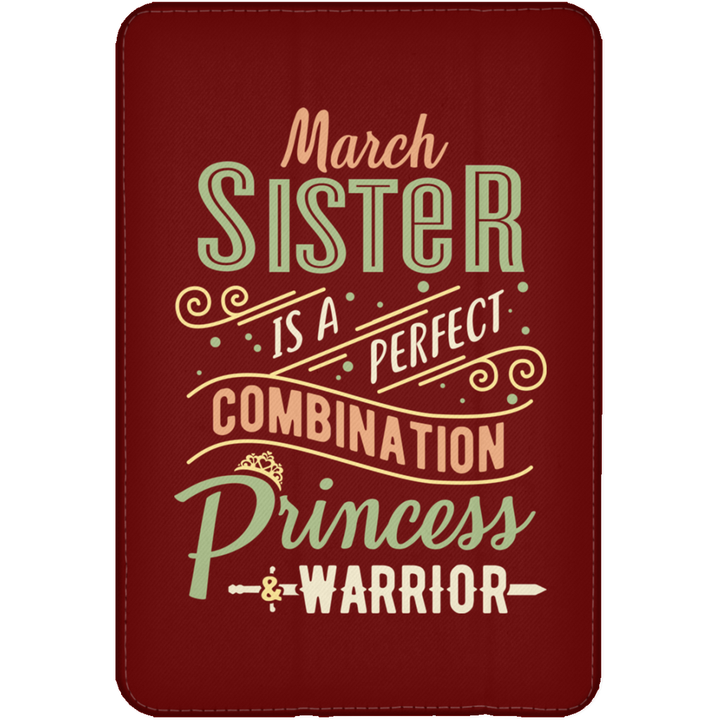 March Sister Combination Princess And Warrior Tablet Covers