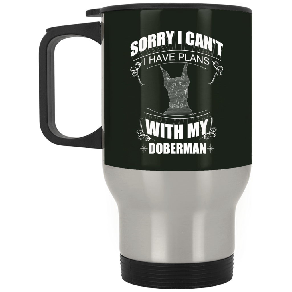 I Have A Plan With My Doberman Mugs