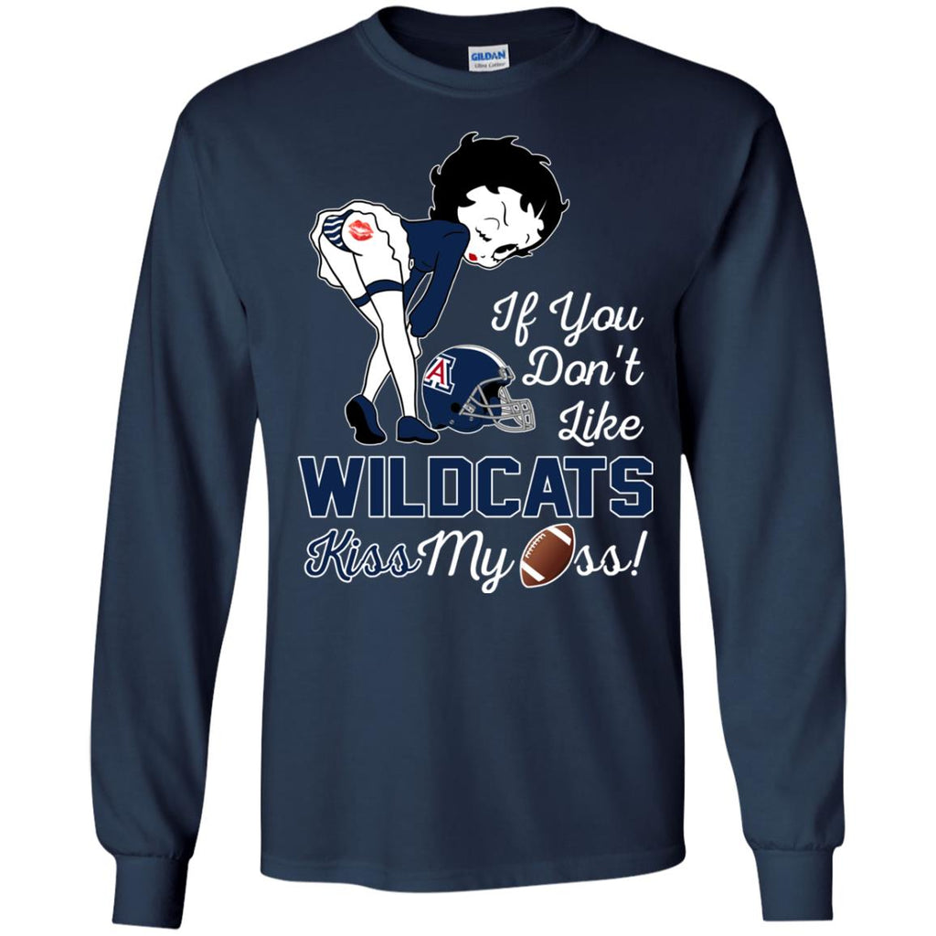 If You Don't Like Arizona Wildcats Kiss My Ass BB T Shirts